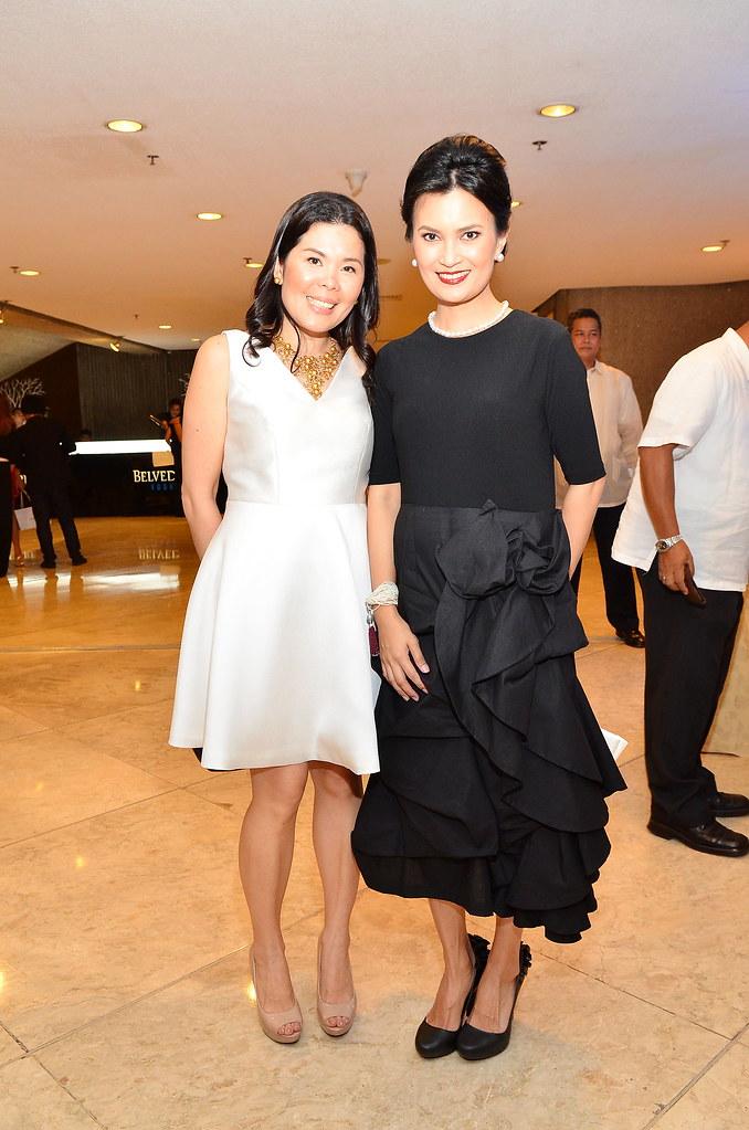 Jewelmer Marketing Manager Isabel T. San Agustin and Daphe Osena-Paez