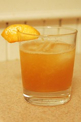 Ginger Peach Cocktail
