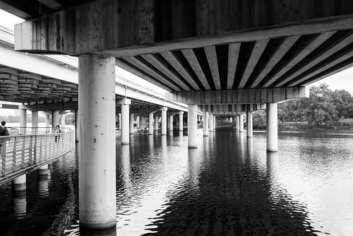 bridge usa water austin river texas unitedstates tx townlake i35 ladybirdlake