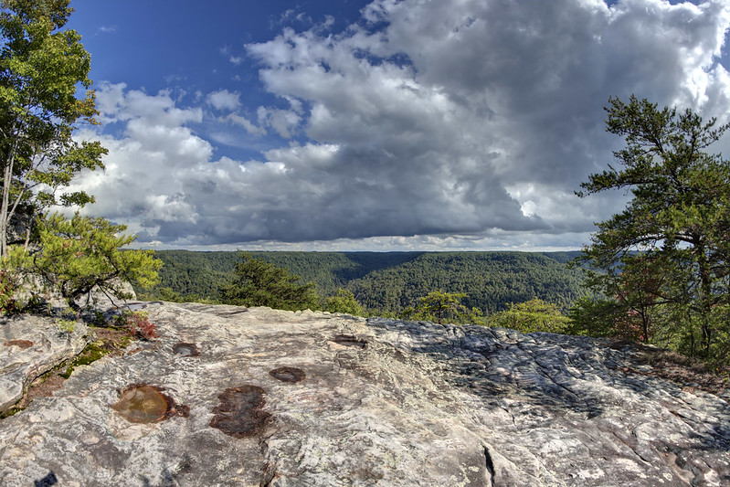 Bee Rock overlook, Putnam County, Tennessee 4