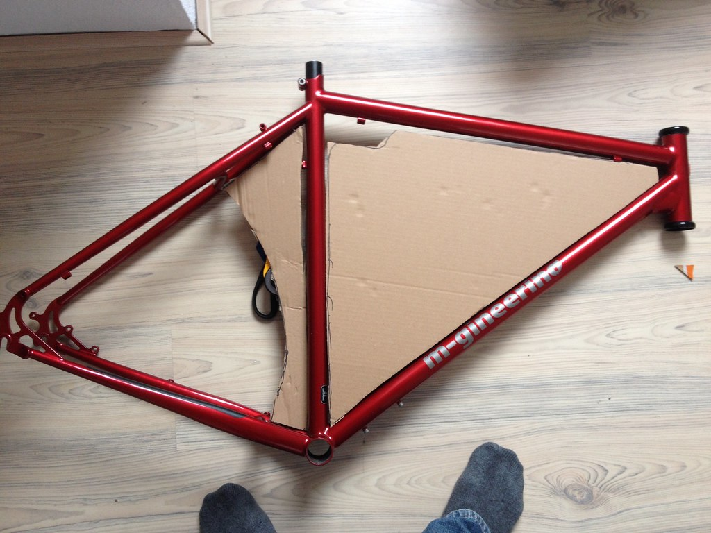 DIY frame bag step 1