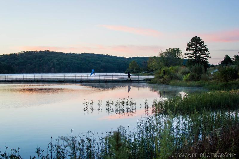 sunrise lake missouri ozarks nature