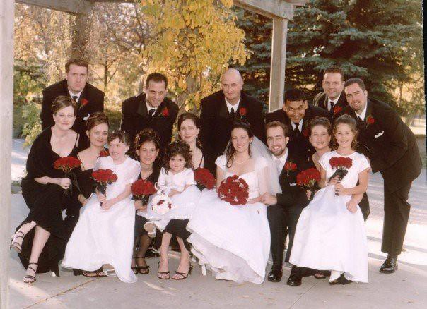 Sarah & Dave wedding photo