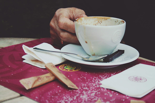 coffee with granny
