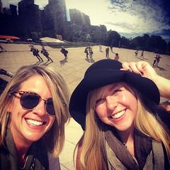 Andrea & Laura at #BNConf