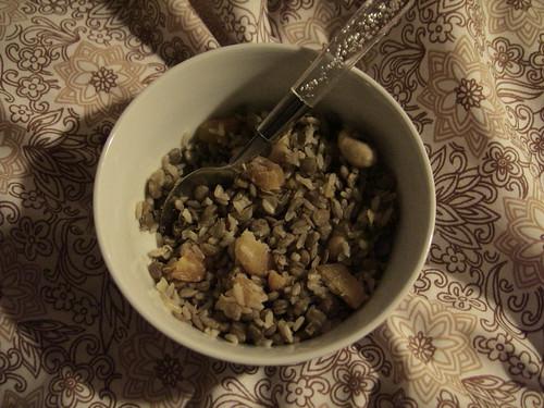 Lentil and 'Couscous'