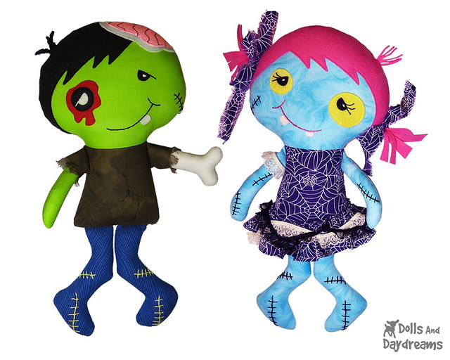zombie doll sewing pattern