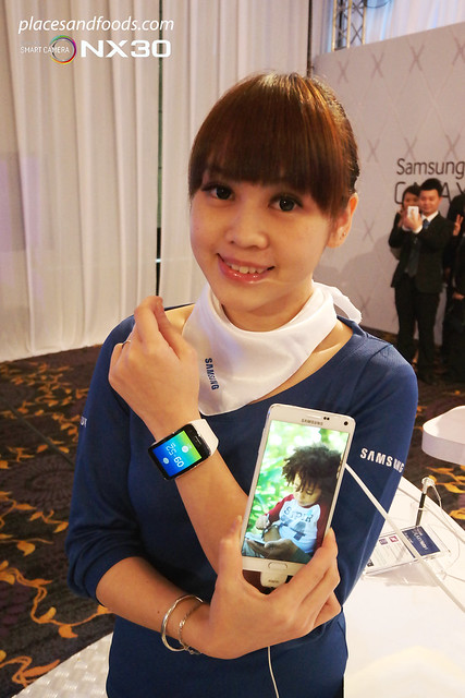 samsung galaxy note 4 and gear s