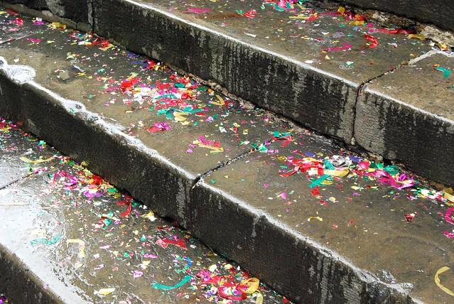 Confetti in San Sebastián