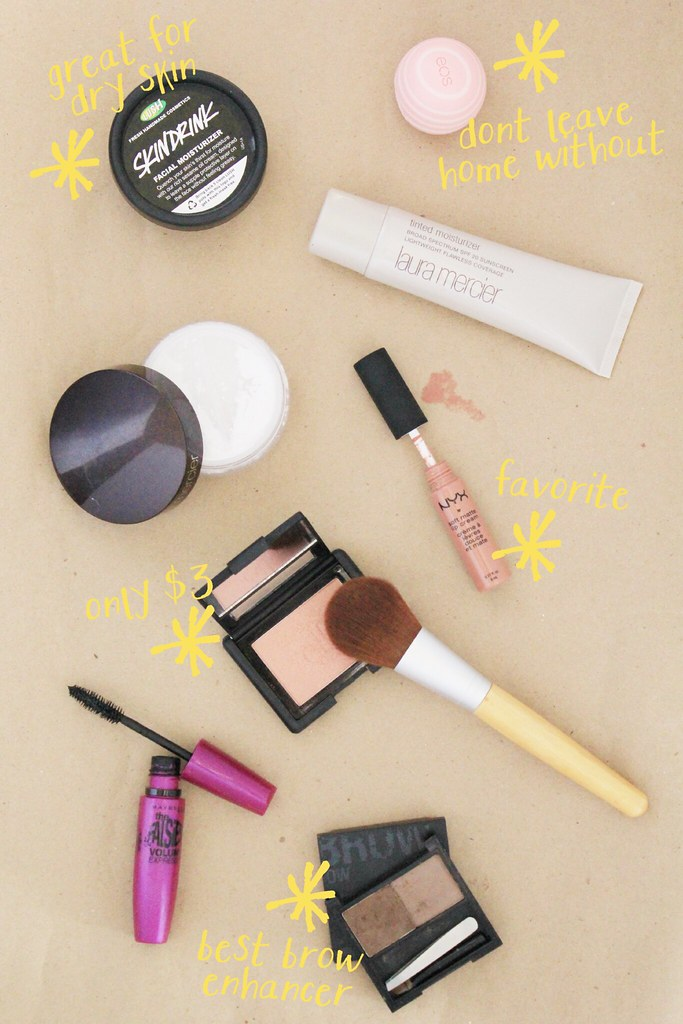 simple beauty routine