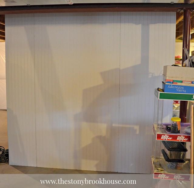 Instant Beadboard Wall