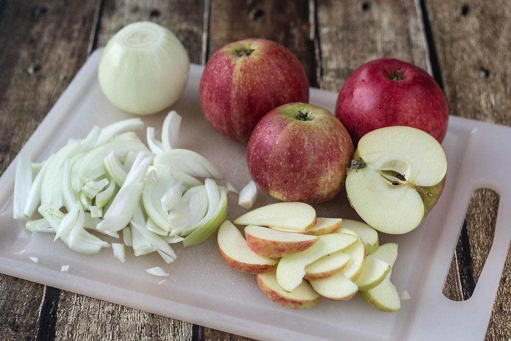 Opskrift på hjemmelavet æbleflæsk til julefrokosten