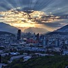A Monterrey sunset seen from the scenic overview at the Obispado #sunset #ocaso #Monterrey