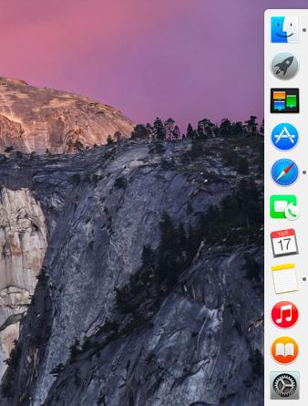 OS X Yosemite アイコンがフラットに