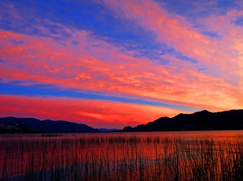 sunset lake bc britishcolumbia okanagan osoyoos osoyooslake haynespointprovincialpark
