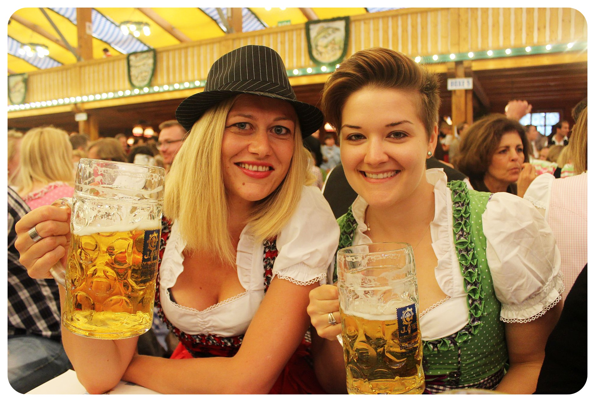 oktoberfest with rikka