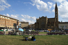 Stationsplein in Florence