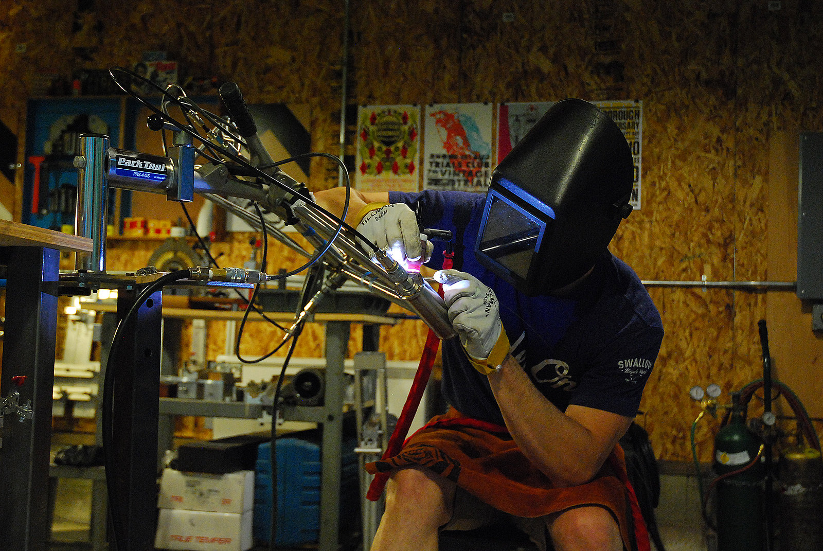 Welding that Head Tube