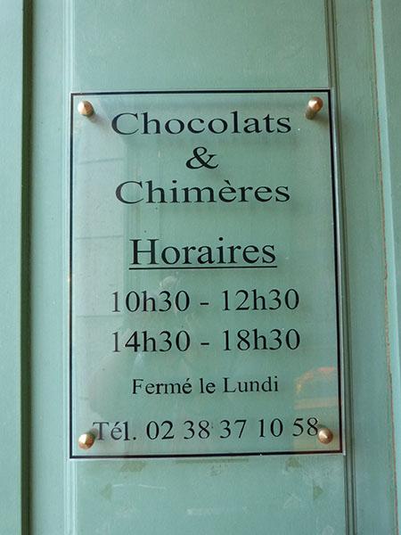chocolats et chimères