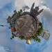 TinyPlanet - Parque de la Constitucion, Cuidad de Guatemala.