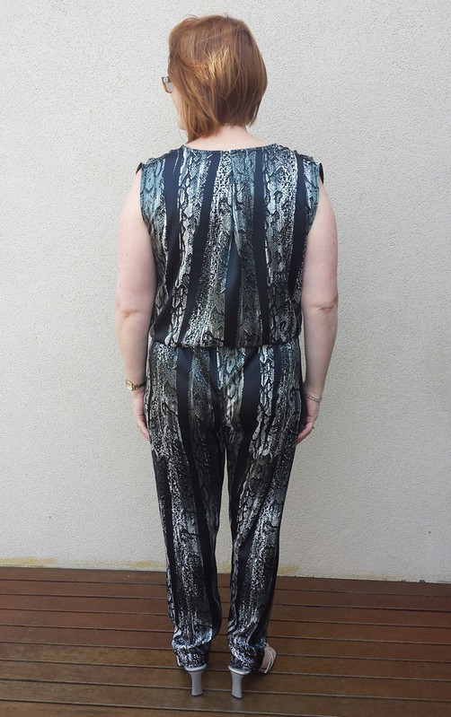 Style Arc Carly Jumpsuit in fabric from Darn Cheap Fabrics