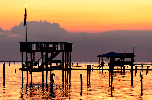 sunset beach water landscape bay pier alabama wharf gulfcoast coden mobilecounty portersvillebay codenbeach