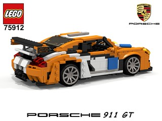 Porsche 911 GT (991) - Lego Nr. 75912 (2015) Recreated