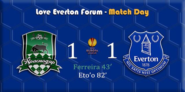 Everton v Wolfsburg banner