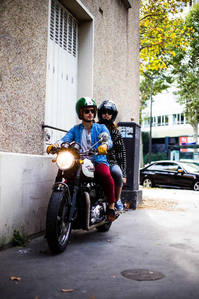 Street Style - Biker, Paris Fashion Week