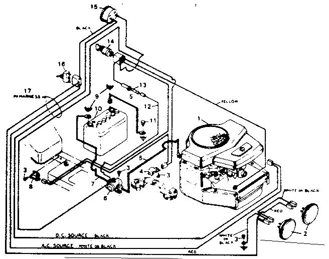 Craftsman 5000 Riding Mower Parts Diagram : Sears craftsman gt parts tractor engine and