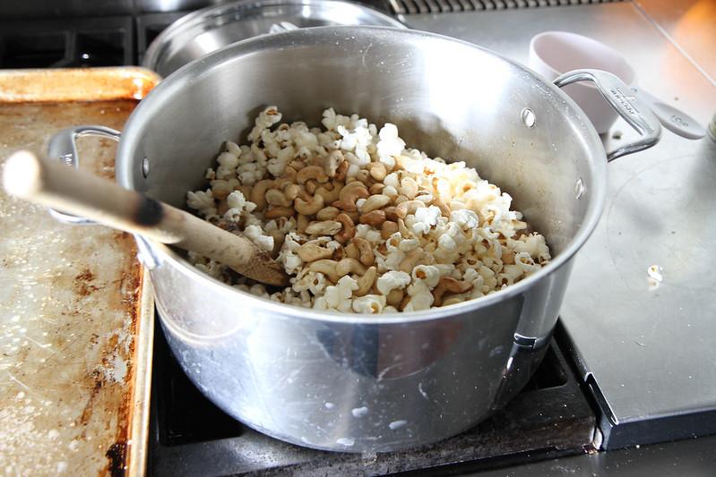 Salted Caramel Popcorn Balls (Vegan)