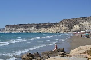 Curium Beach, Cyprus