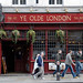 Ye Olde London pub in Ludgate Hill, City of London