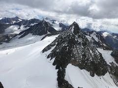 Blick auf die Stubaier Wildspitze