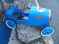Blue Racing...