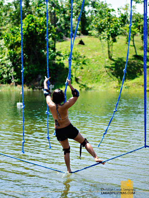 Obstacle Course at Mountain Lake Resort in Caliraya Springs
