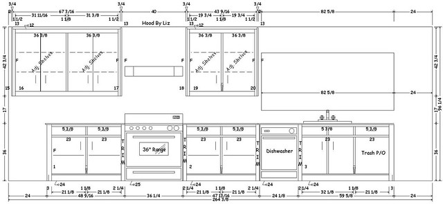 Final Kitchen Cabinet Plans