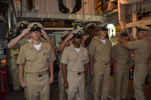 USS Ingraham Welcomes Newest Chief Petty Officers