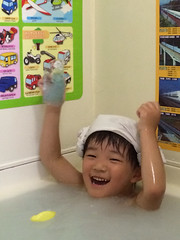 お風呂とらちゃん 2014/9
