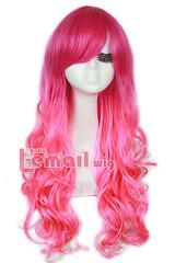 60cm Harajuku Mix Red&Pink Halloween Cosplay Wig