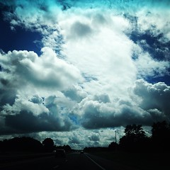 Heading to #Orlando || #clouds #sky