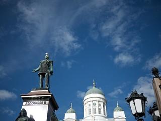 Alexander II 헬싱키 근처 의 이미지. lumixg20f17