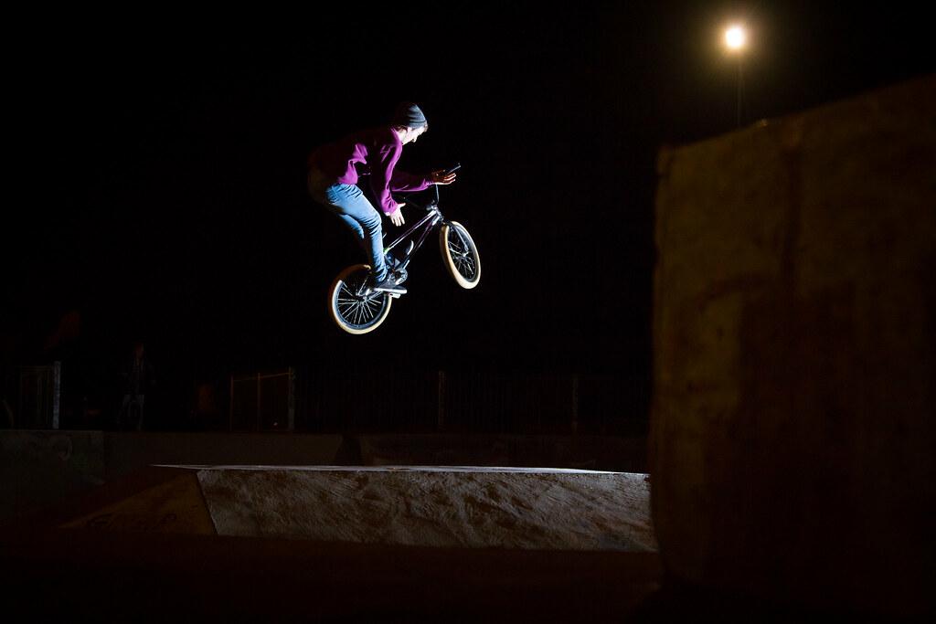 BenJamin Nairn 180 bar spin perth skatepark