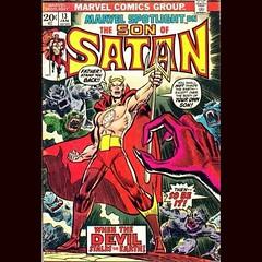 The Son of Satan! #Comics #horror