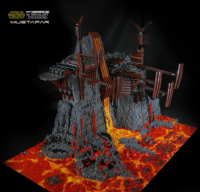 Mustafar, by Migalart, on Eurobricks