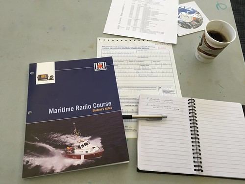 Maritime Radio Course at the West Vancouver Yacht Club