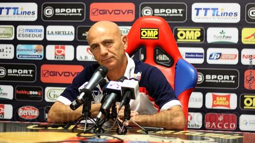 """Catania, Sannino: """"Gli infortuni non ci aiutano ma giochiamo per vincere""""$"""