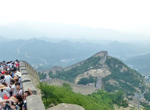 Beijing-Grande Muraille-Téléphérique (4)