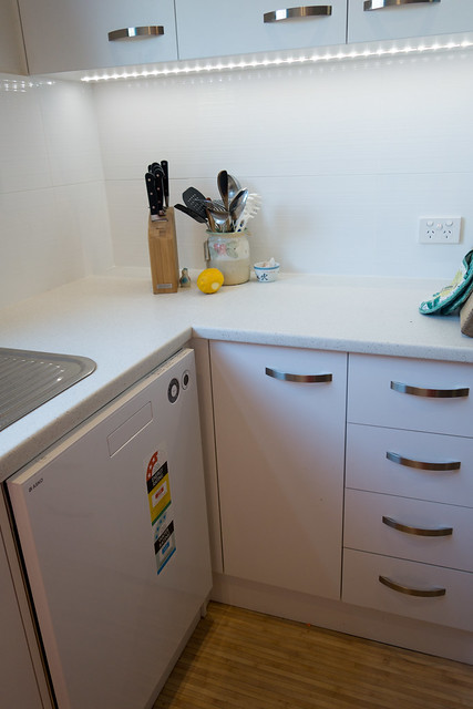 After - dishwasher/cupboards