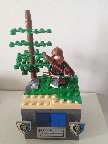 lego minifigure - an elf hunter
